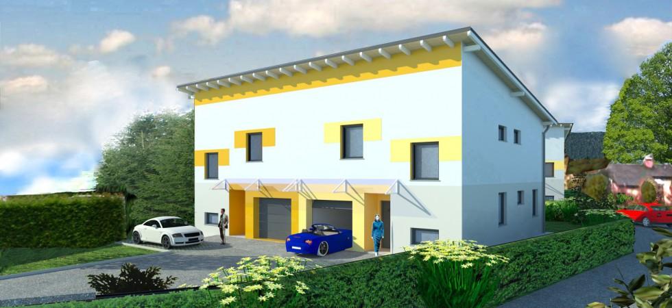 Drei Reihen- bzw. zwei Doppelhäuser in Attnang-Puchheim (Mietkauf oder Eigentum)